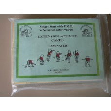 Extension Activity Cards colour coded and laminated